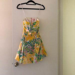 Fun, bright Lilly Pulitzer dress